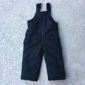 London Fog Toddler Girl Bib Snowpants Size 3T
